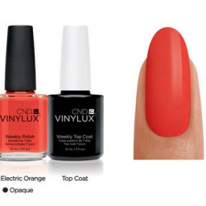 Electric Orange by Vinylux CND